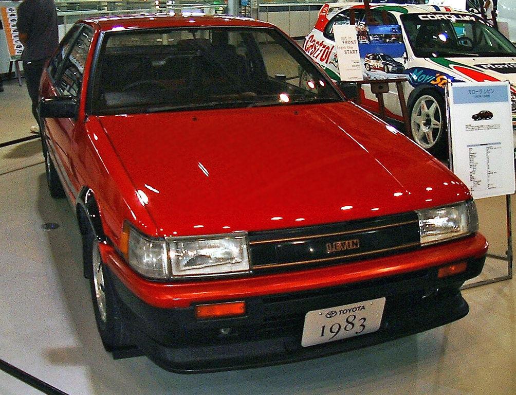 AE86型スプリンタートレノ