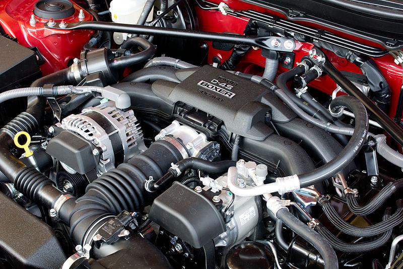 D-4Sボクサーエンジン